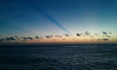 Sunrise at Jemeluk Beach