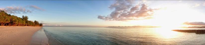 Sunrise at Gili Nanggu