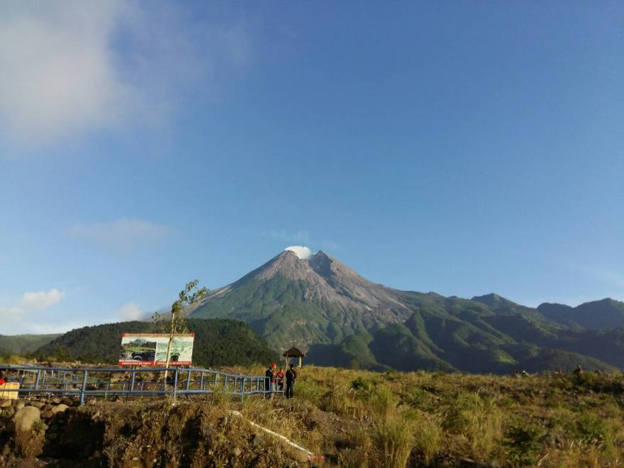 Gunung Merapi, Sleman.