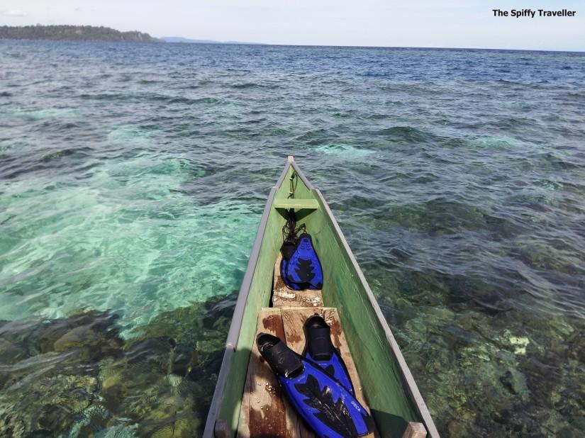 Air Lau Sejernih Kristal di Pulau Taupan