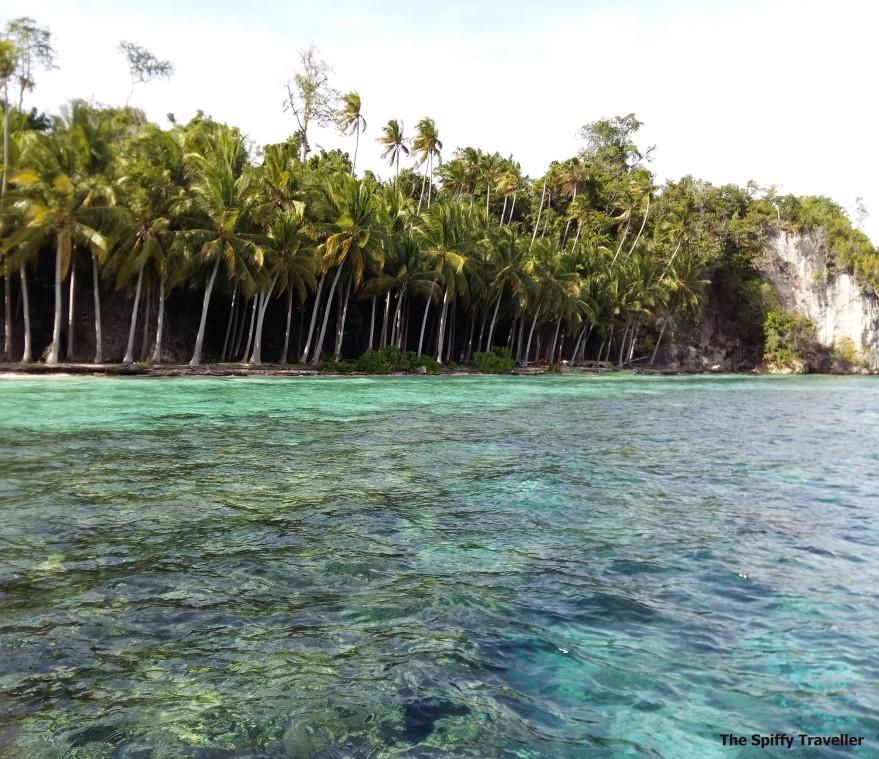 Pantai di Pulau Taupan