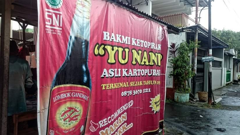 Bakmi Ketoprak Yu Nani