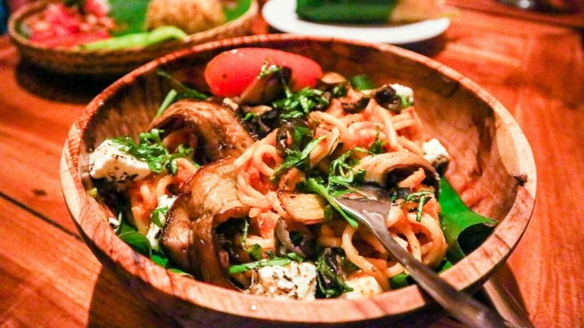 Vegetarian Food Amed, Bali