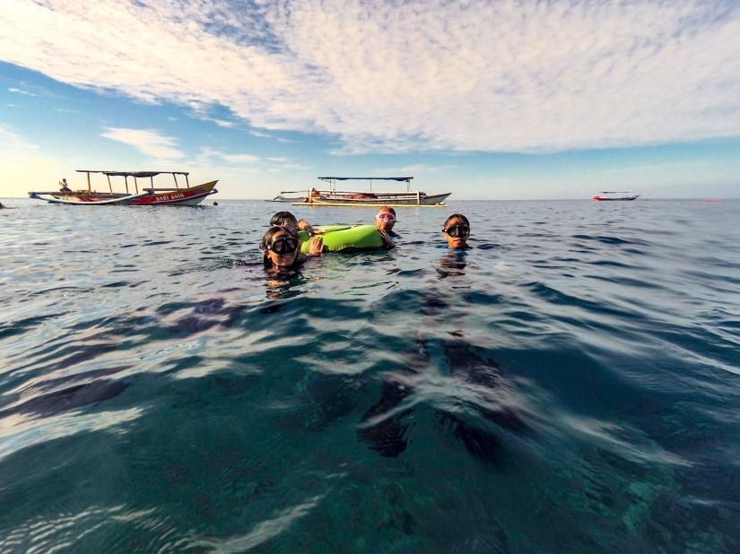 Freedive Amed, Bali